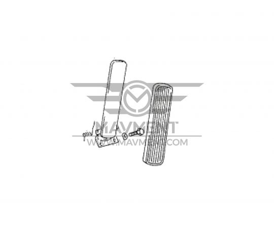 Pedale Acceleratore - Completo
