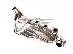 911 Scambiatore sinistro Acciaio Inox motori a carburatori