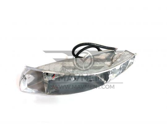 Corpo Fanale Metallo Anteriore - Sinistro - 911-93-8001