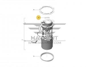Pellicola Adesiva Flangia con Filtro Carburante