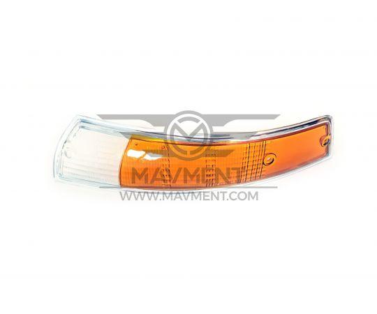 Plastica Fanale Ant Sx Bordo Cromo 911 + Orange